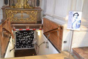 Cripta reale - Ingresso
