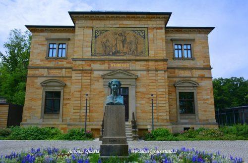 Bayreuth, monumento a Re Ludwig II