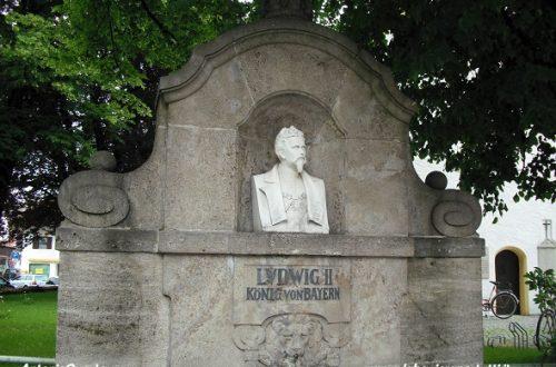 Grassau, monumento a Re Ludwig II