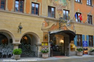 Garmisch-Partenkirchen, Atlas Grand Hotel (ingresso)