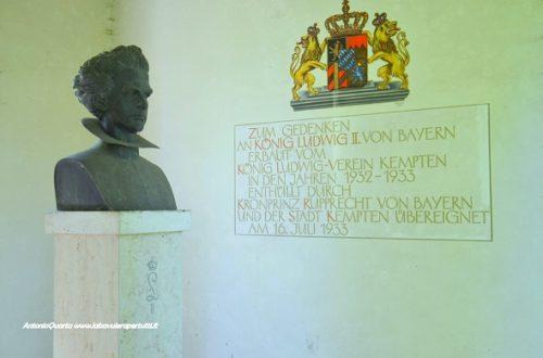 Kempten, monumento a Re Ludwig II