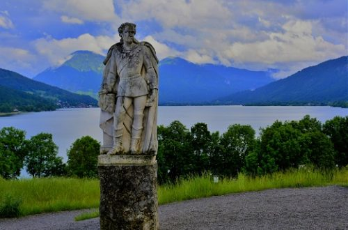 Gut Kaltenbrunn, Monumento a Re Ludwig