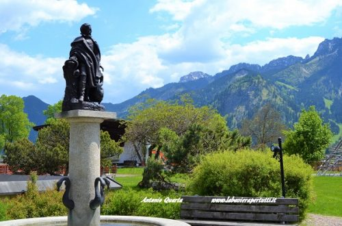 Schwangau, il monumento dedicato a Re Ludwig II