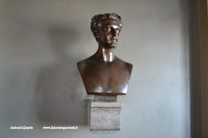 Castello di Neuschwanstein, busto di Re Ludwig (foto n.4)