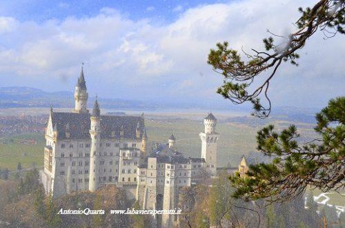 Il castello di Neuschwanstein (Schloss Neuschwanstein – prima parte)