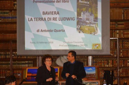 Pavia, 15 febbraio 2018, presentazione libro