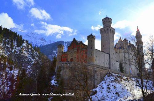 Il castello di Neuschwanstein (Schloss Neuschwanstein, parte seconda)