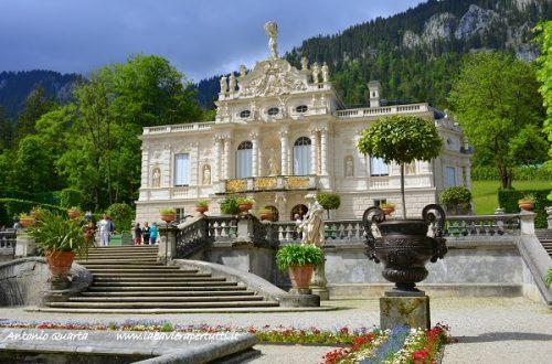 Linderhof, il castello di Re Ludwig II