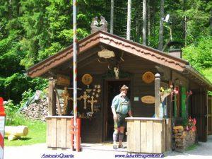 Schachenhaus, la baita posta all'ingresso della strada a pagamento