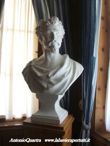 (Schachenhaus, busto di Re Ludwig (foto. 3)