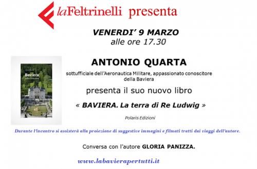 """Presentazione libro """"Baviera, la terra di Re Ludwig"""",  Ferrara"""