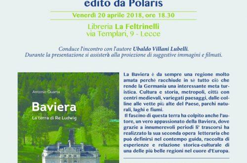 Presentazione libro, Lecce 20 aprile 2018