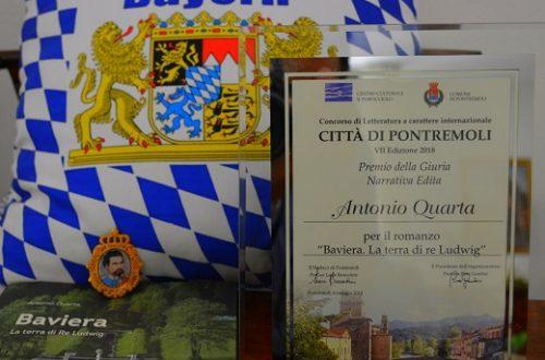 """""""Baviera la terra di Re Ludwig"""", premiato a Pontremoli"""