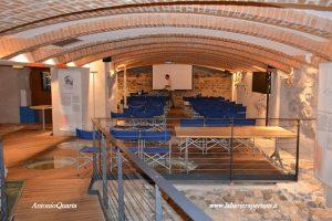 La sala all'interno di Palazzo Lodron