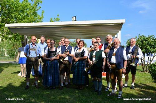 La banda musicale di Kaufbeuren a Ferrara