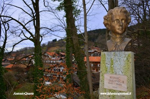 Schliersee, monumento a Re Ludwig II