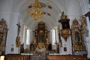 Schliersee, chiea di San Sisto (interno)