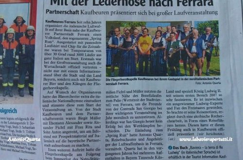 La stampa bavarese menziona Antonio Quarta