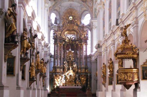 Le chiese nel centro di Monaco, St. Peter