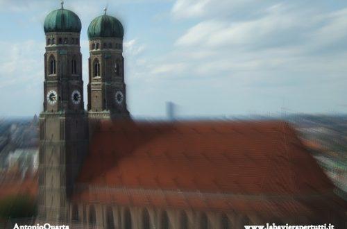 """Le chiese nel centro di Monaco, la """"Frauenkirche"""""""