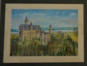Castello di Neuschwanstein opera di Vittorio Gobbato