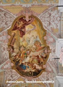 Heilig Geist Kirche, affresco dei fratelli Asam (Discesa dello Spirito Santo)