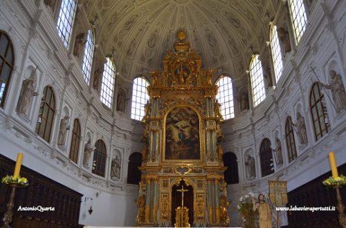 Le chiese nel centro di Monaco, Jesuitenkirche St. Michael