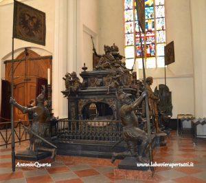 Fraenkirche, il mausoleo dell'Imperatore Ludovico IV, il Bavaro