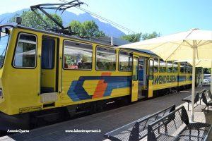 Wendelstein, il trenino giallo