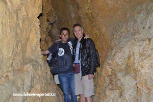Wendelsteinhöhle con Michele Nussbaumer (a destra)