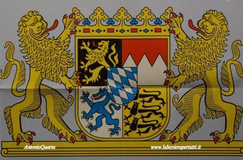 """Lo stemma dello """"Stato libero di Baviera"""""""