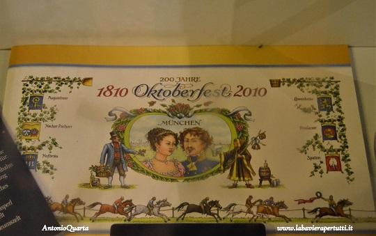 Bier Oktoberfest Museum, documento celebrativo