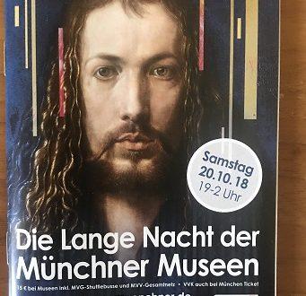 Monaco la lunga notte dei Musei, 20 ottobre 2018
