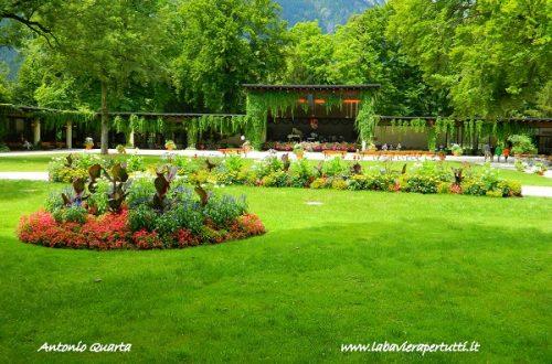 La città di Garmisch-Partenkirchen