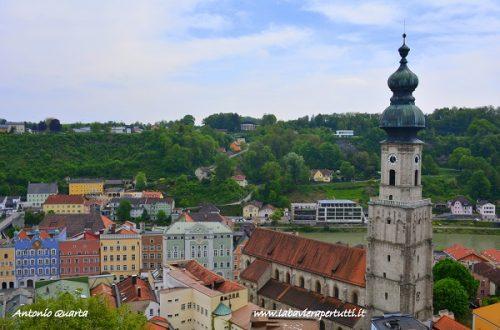 La città di Burghausen