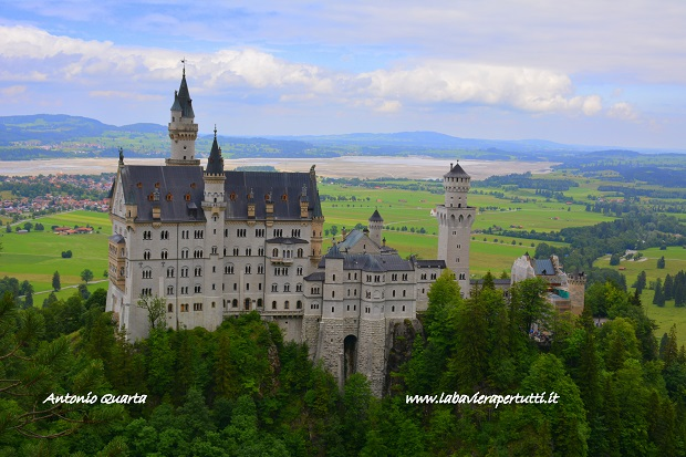 Neuschwanstein Il Castello Di Re Ludwig Ii La Baviera Per Tutti