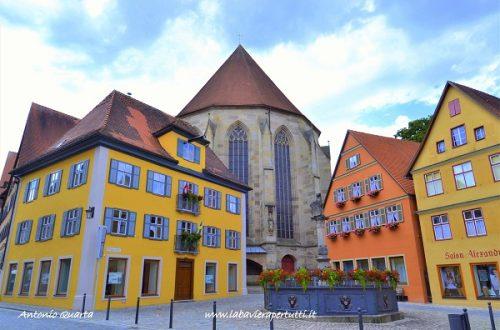 La città di Dinkelsbühl