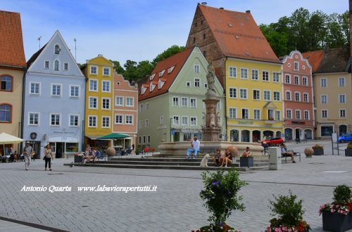 La città di Landsberg am Lech