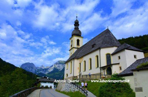 La chiesa parrocchiale di Ramsau