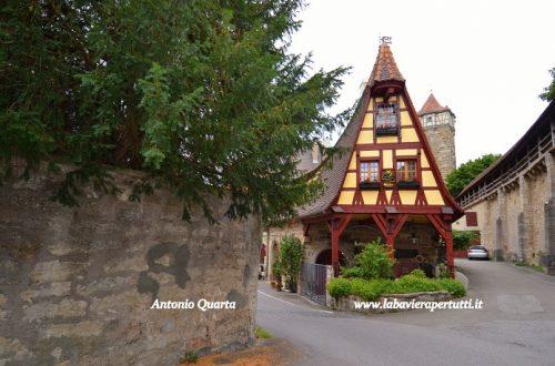 Itinerari turistici bavaresi, la Strada delle Rocche
