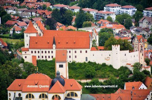 La città di Füssen