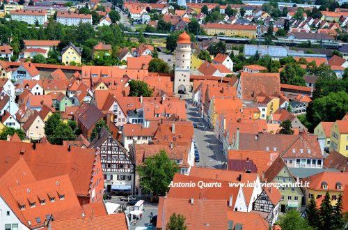 La città di Nördlingen im Ries