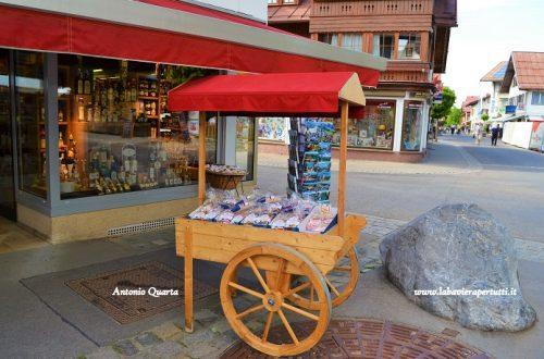 Il Breitnachklamm e la città di Oberstdorf