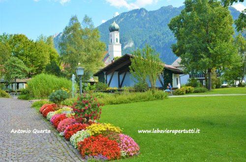 La città di Oberammergau