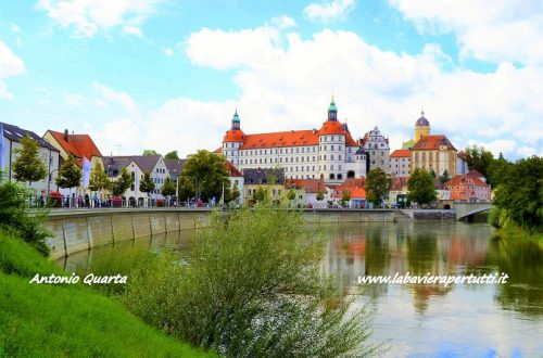 La città di Neuburg an der Donau