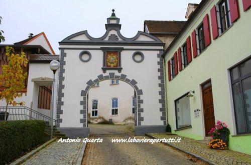 La città di Dillingen an der Donau
