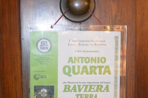 """""""Baviera terra incantevole"""", la mia conferenza a Ravenna"""