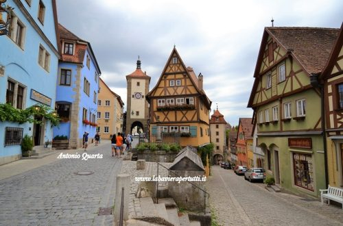 La città di Rothenburg ob der Tauber