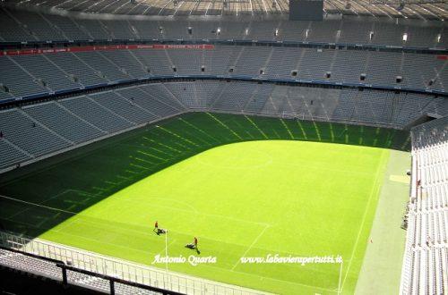 L'Allianz Arena di Monaco di Baviera
