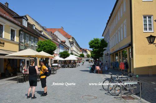 La città di Murnau am Staffelsee